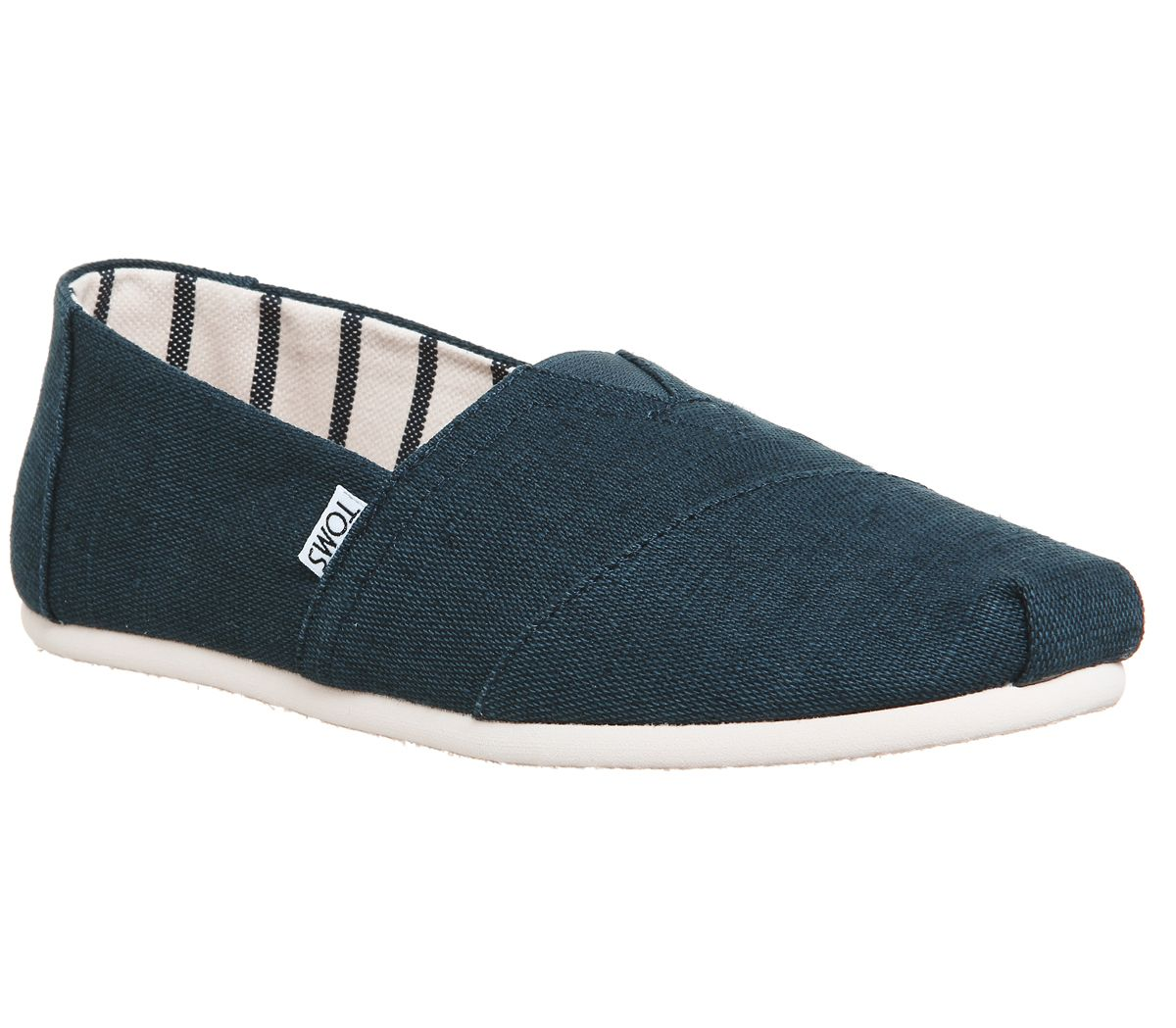fee3cd3e41a Toms Toms Classic Majolica Blue Heritage Canvas - Casual