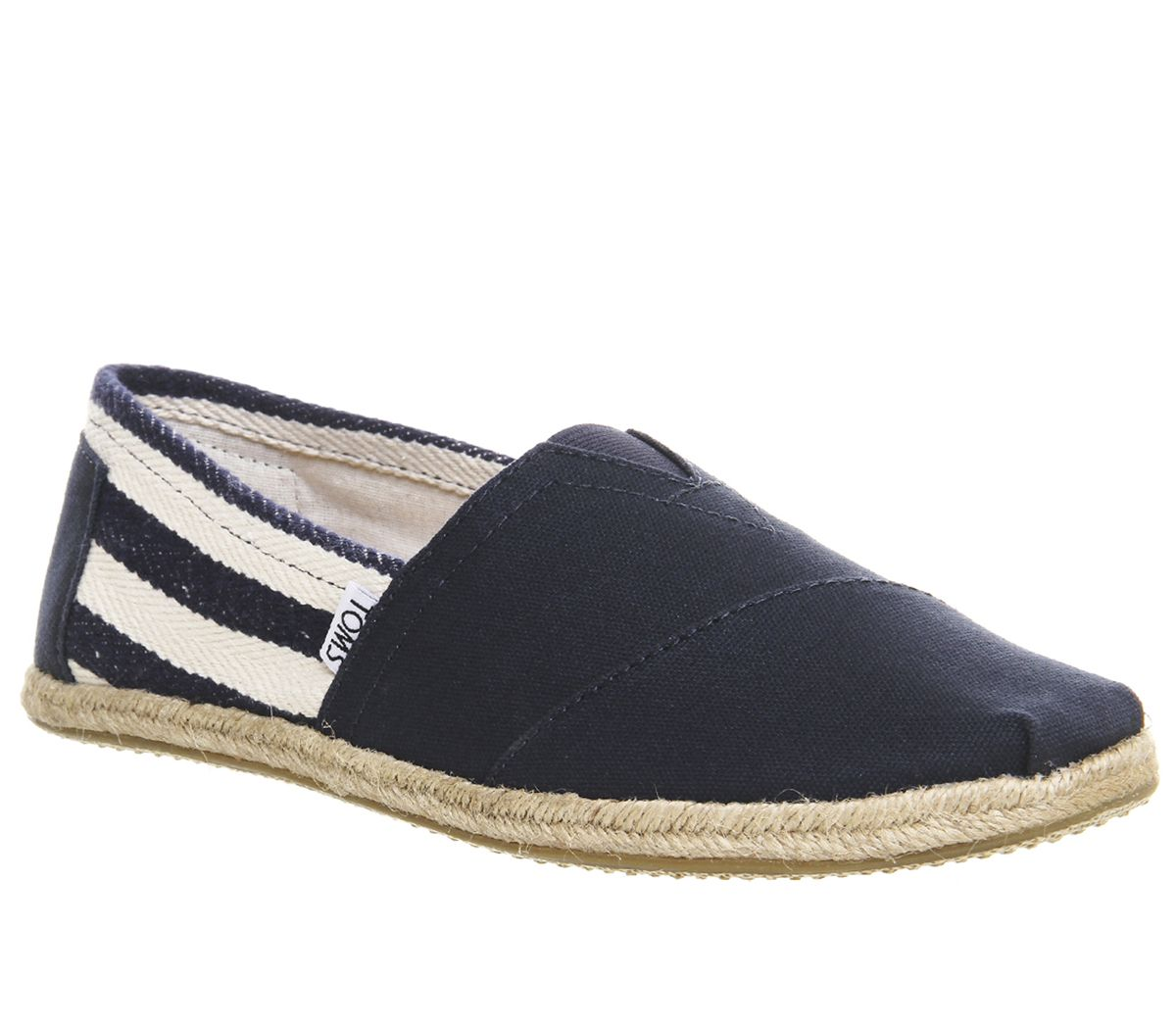 882a2d43907 Toms University Classic Slip Ons Navy - Casual