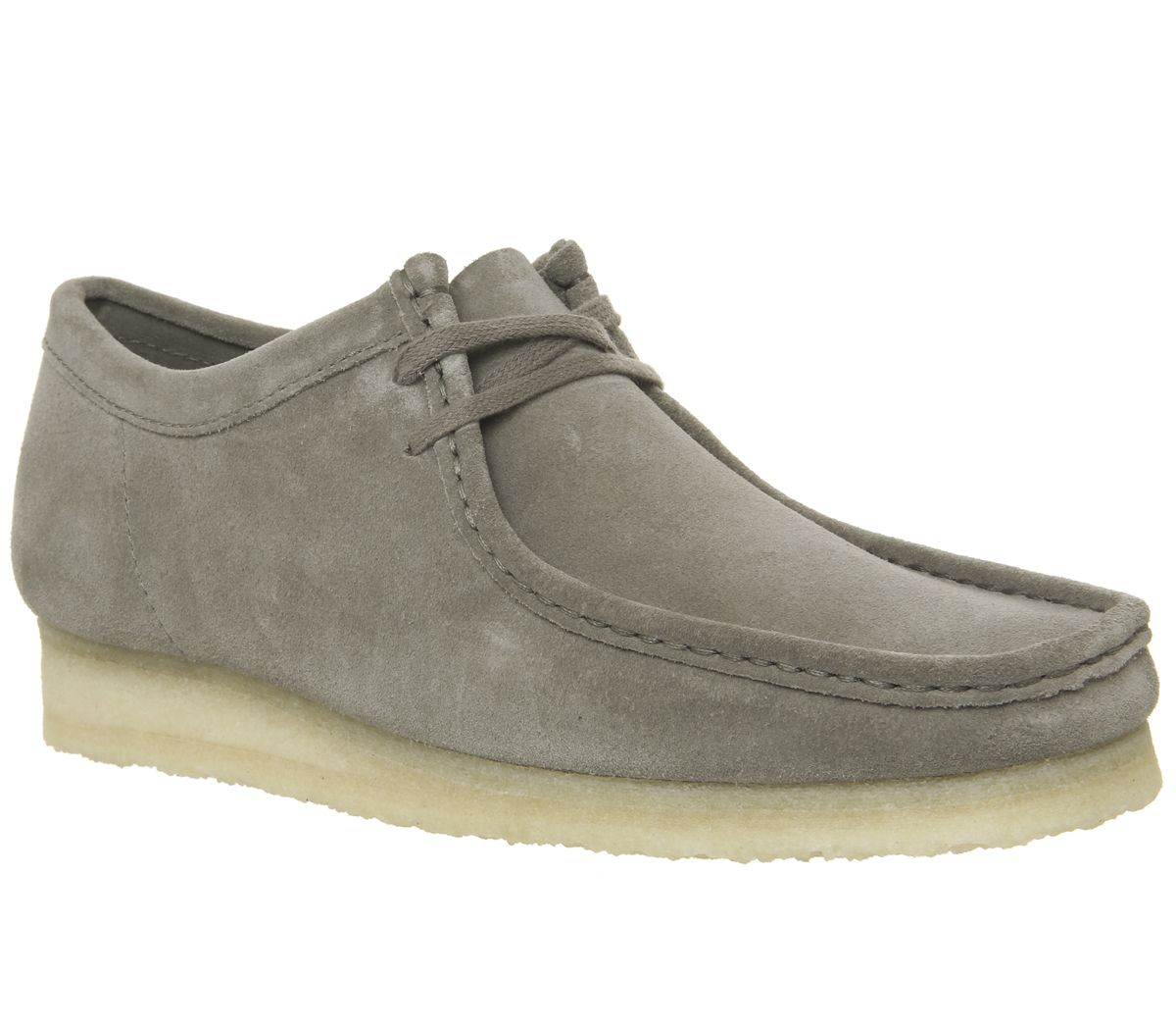 913a05352d1aa5 Clarks Originals Wallabee Shoes Grey Suede - Casual