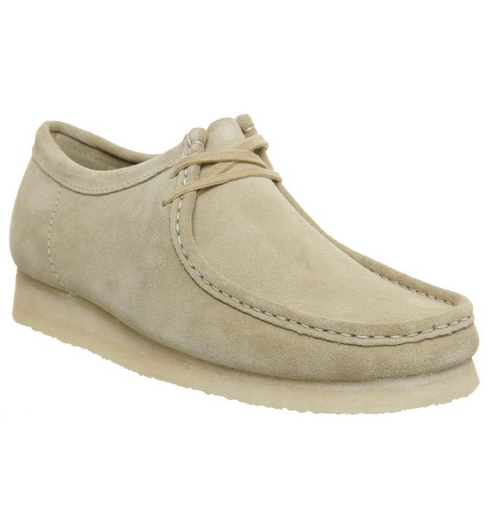 Clarks Originals Wallabee Shoe MAPLE SUEDE NEW