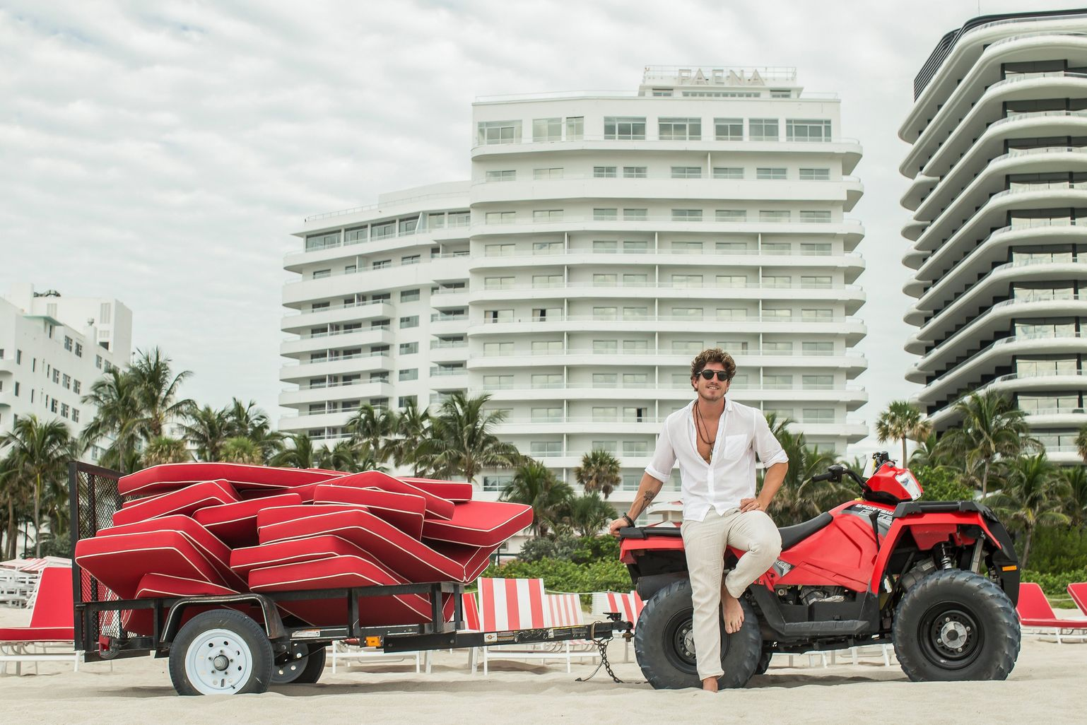 The art director of the Faena Hotel shows us his life in 6 photos