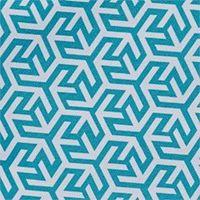 MAYA BLUE/WHITE