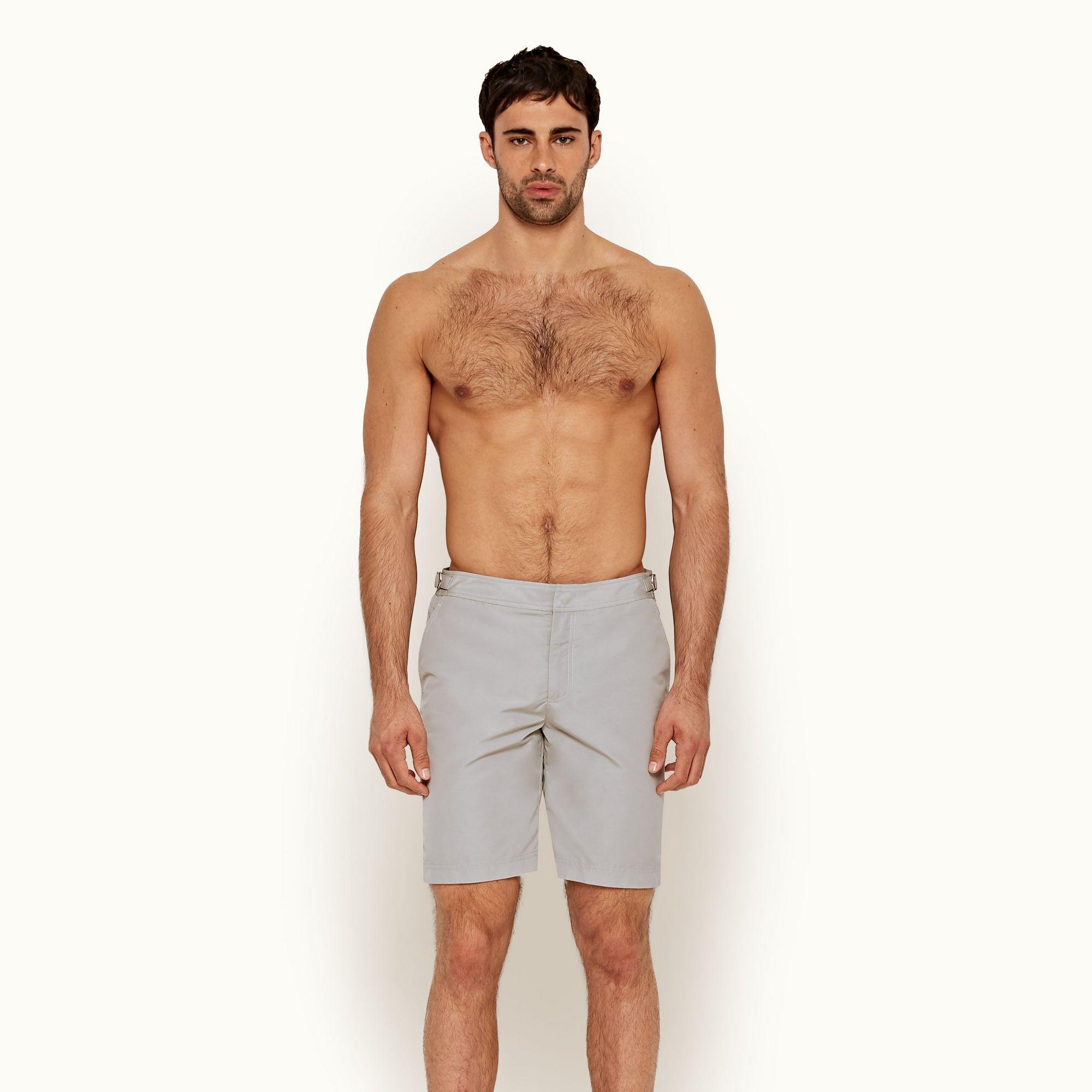 environ 96.52 cm Taille 38 in Dane II Authentique Orlebar Brown Homme Long Longueur Shorts de bain bleu marine