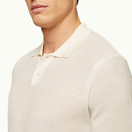 Orlebar Brown Dr. No Knitted Polo
