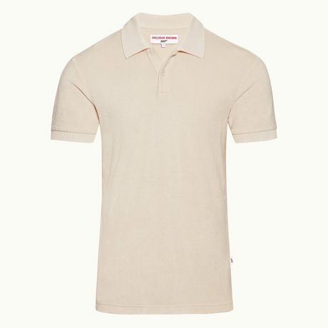 Orlebar Brown Dr No Towelling Polo Shirt