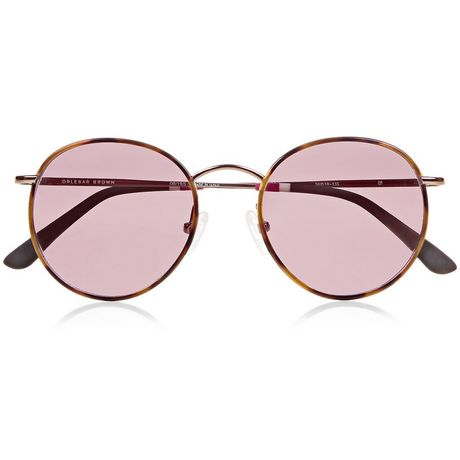 Orlebar Brown Round Sunglasses