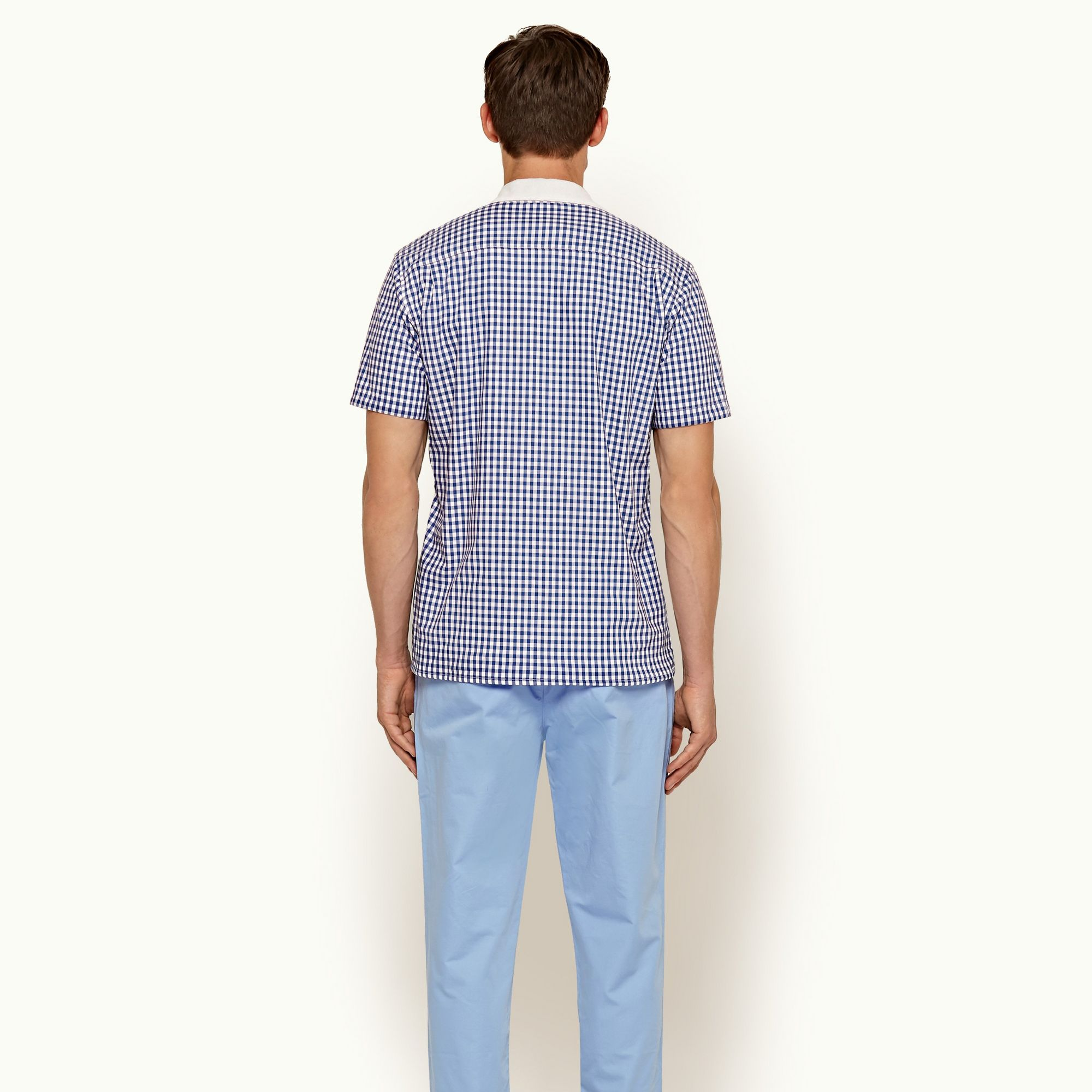 Orlebar Brown Thunderball Gingham Shirt