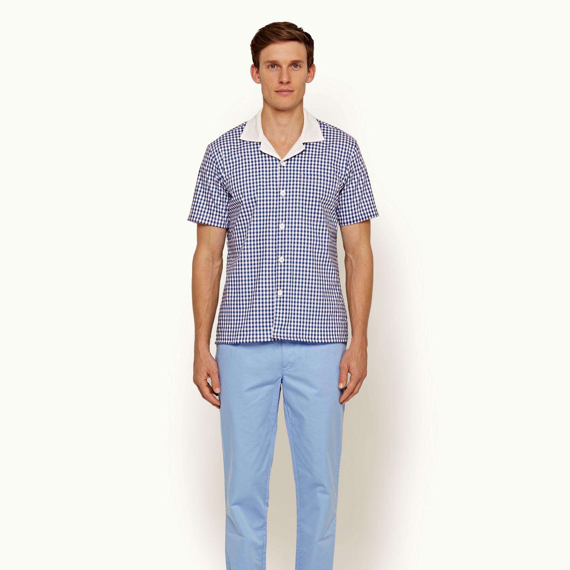 Orlebar Brown Thunderball Gingham Shirt