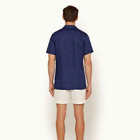 Orlebar Brown Thunderball Linen Shirt