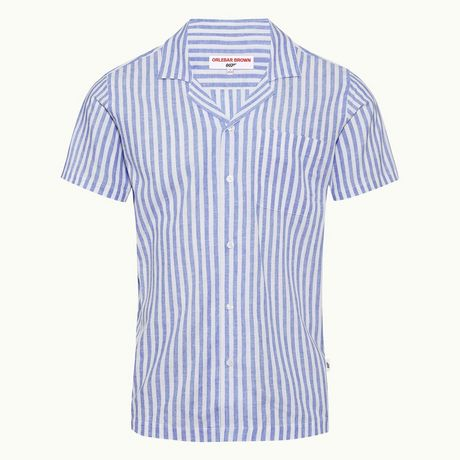 Orlebar Brown Thunderball Stripe Shirt