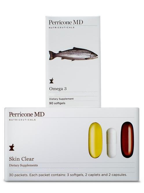 Skin Clear + Omega 3 Supplements Duo - Perricone MD