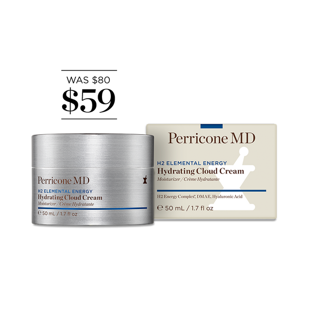 Perricone MD H2EE Hydrating Cloud Cream 1.7oz Neutrogena Visibly Clear Rapid Clear Treatment, 15ml + Curad Bandages 8 Ct.
