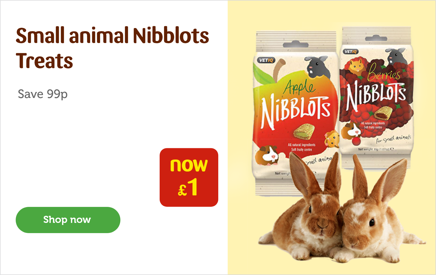 43cbed8ab0 Nibblots treats for £1