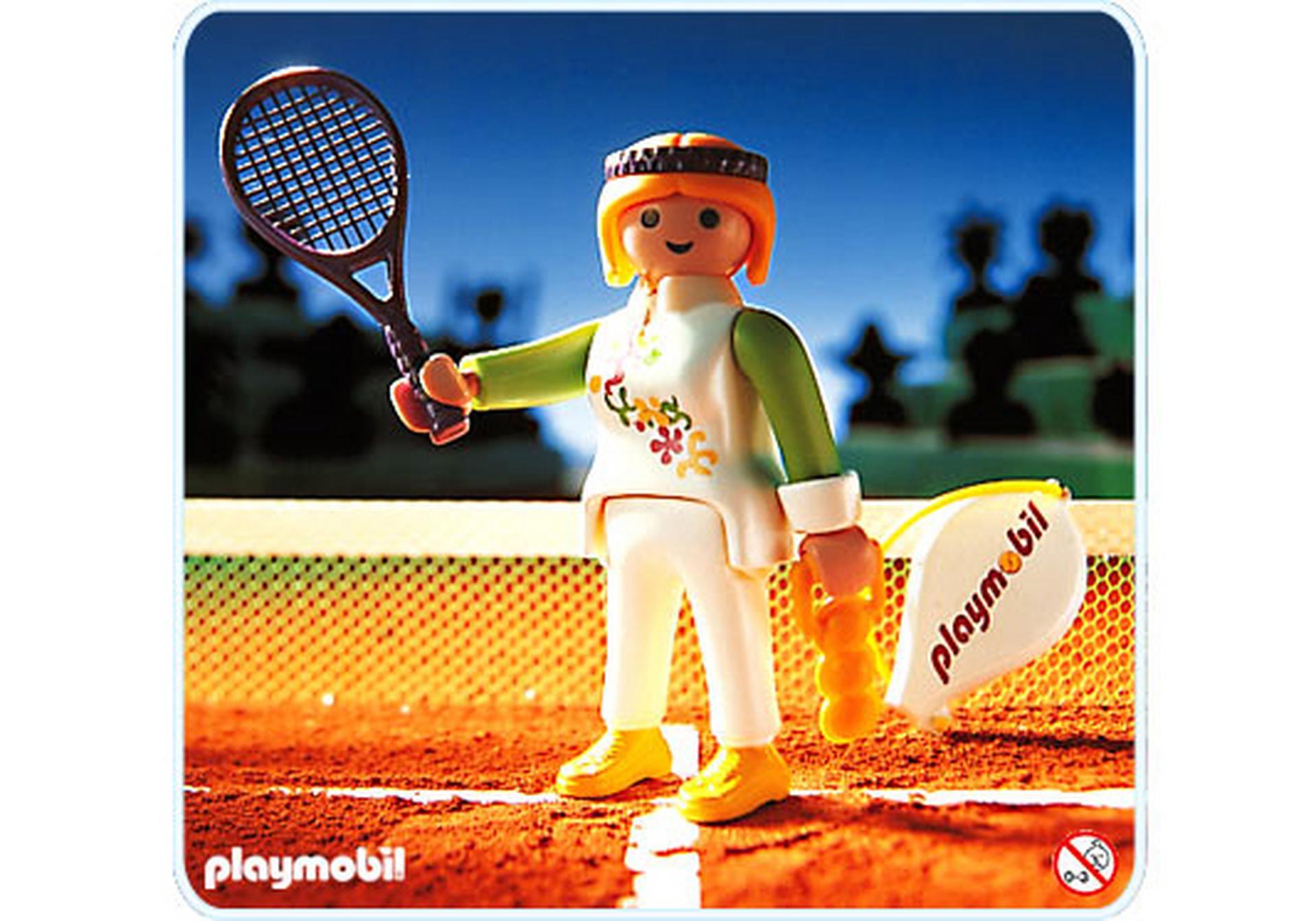 Playmobil Ausmalbilder Kinderklinik : Tennisspielerin 4509 A Playmobil Deutschland