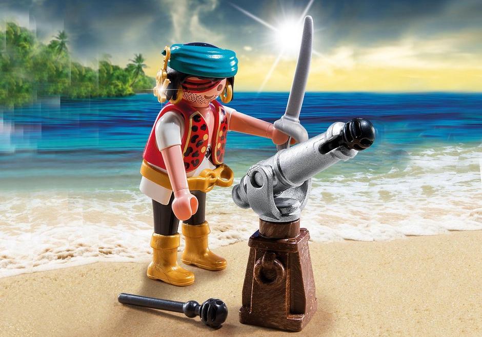 Pirat mit Kanone