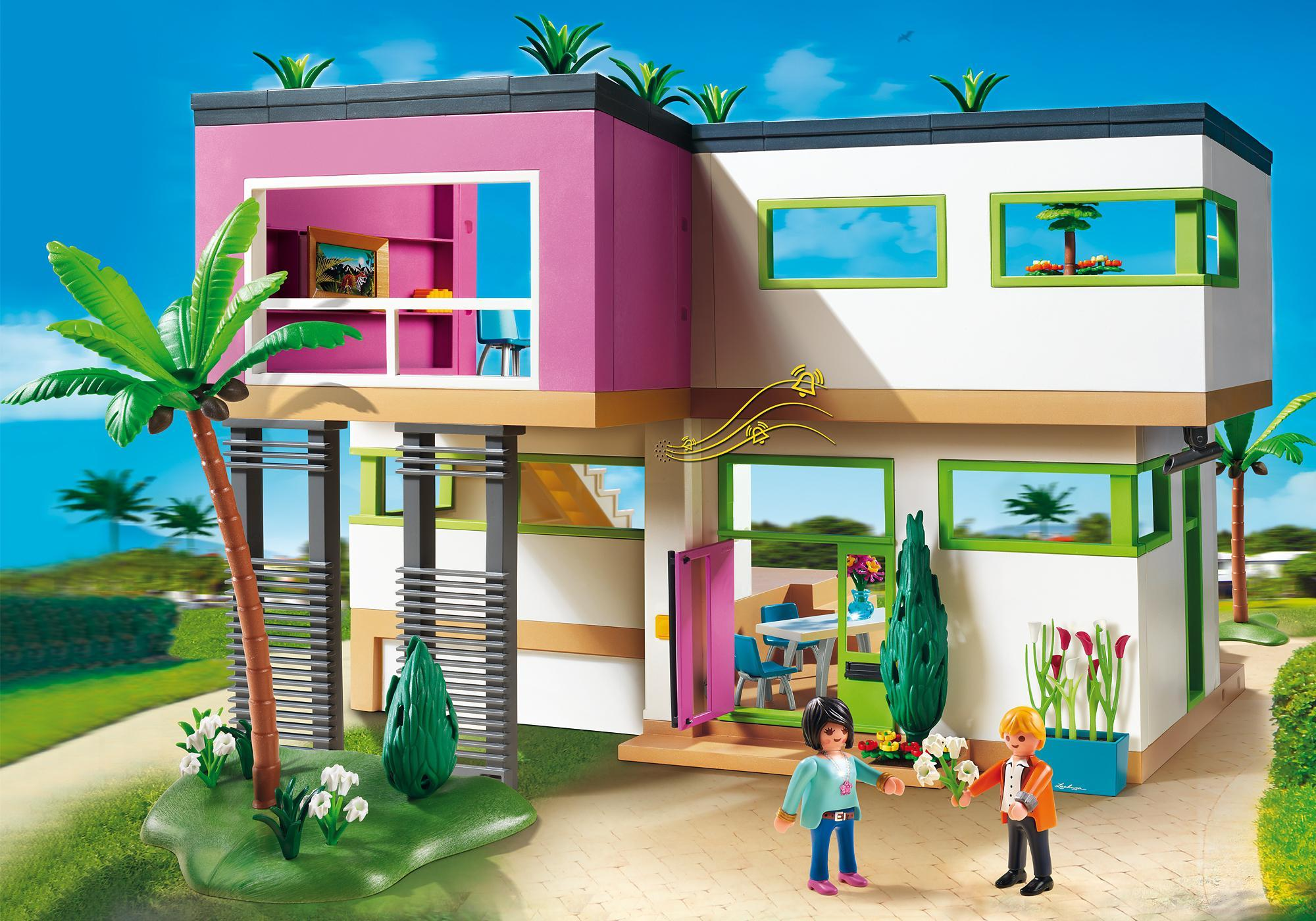 Great Maison Moderne De Playmobil With Image Maison Moderne