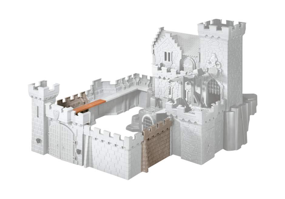 Wall extension for Royal Lion Knight's Castle and Hawk Knights'
