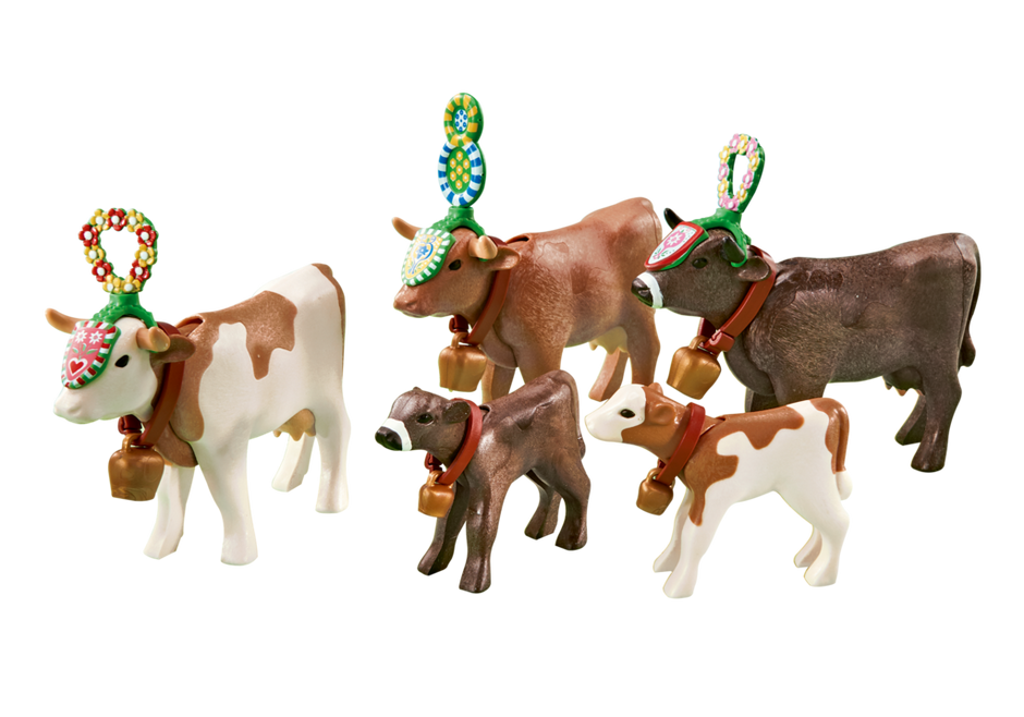 Alpine Cow Parade
