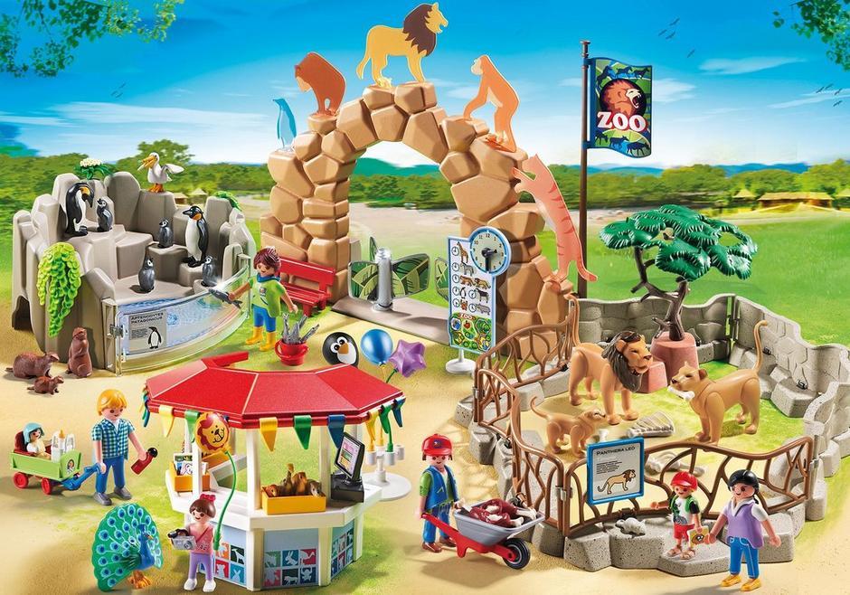 Large City Zoo 6634