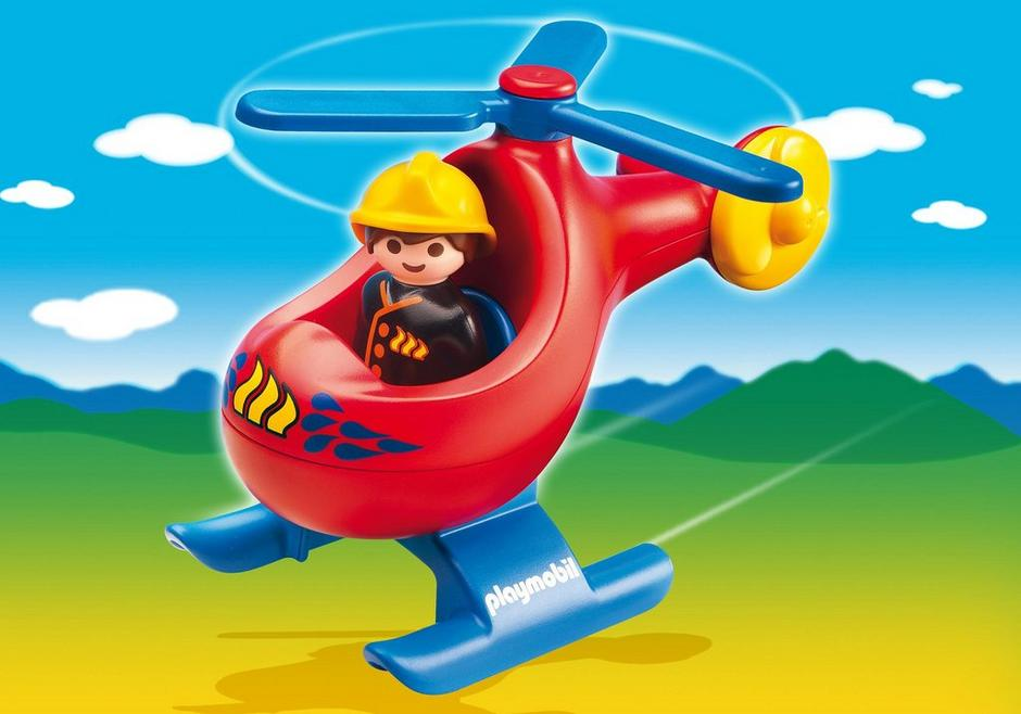 Fire Rescue Helicopter 6789