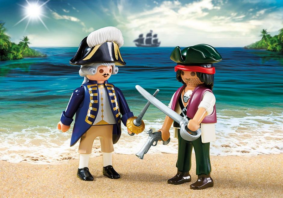 Duo Pack Pirat und Soldat