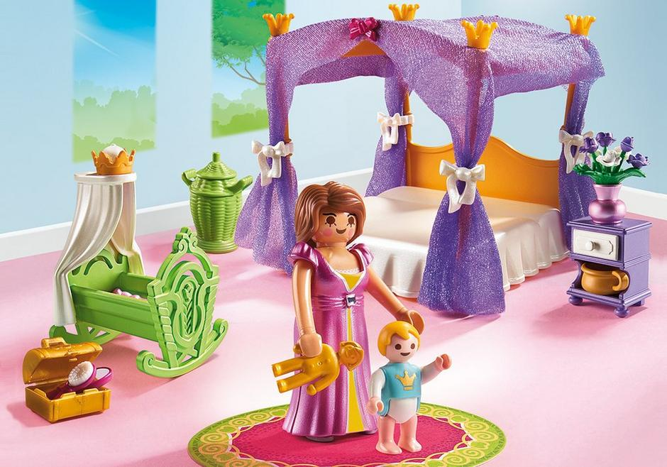 Princess Chamber with Cradle 6851