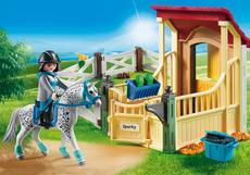 6935 Playmobil Appaloosa Met Box