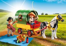Picnic with Pony Wagon 6948