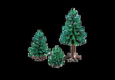 3 Dennebomen