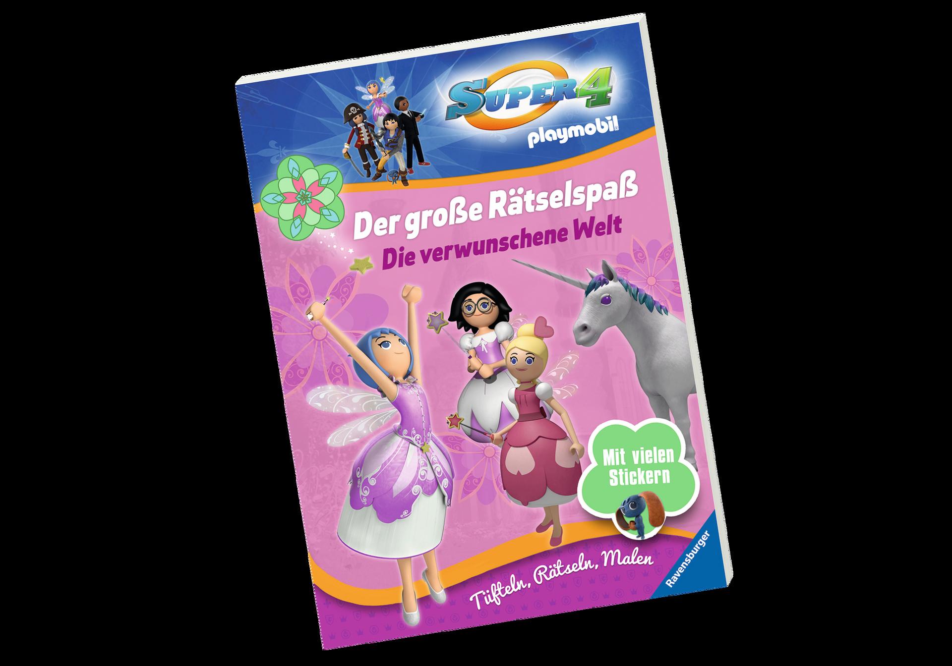 Playmobil Drachenland Ausmalbilder : Super 4 Der Gro E R Tselspa Die Verwunschene Welt 80473