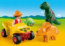 1.2.3 Dino-onderzoeker met quad