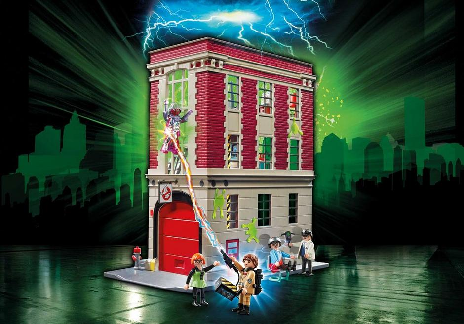 Ghostbusters Firehouse 9219