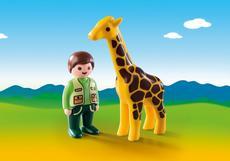 1.2.3 - Dierenverzorger met giraf
