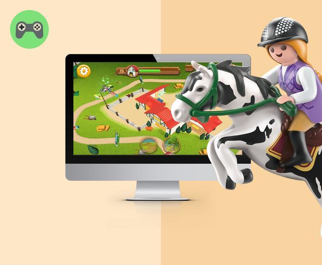 playmobil horse farm instructions