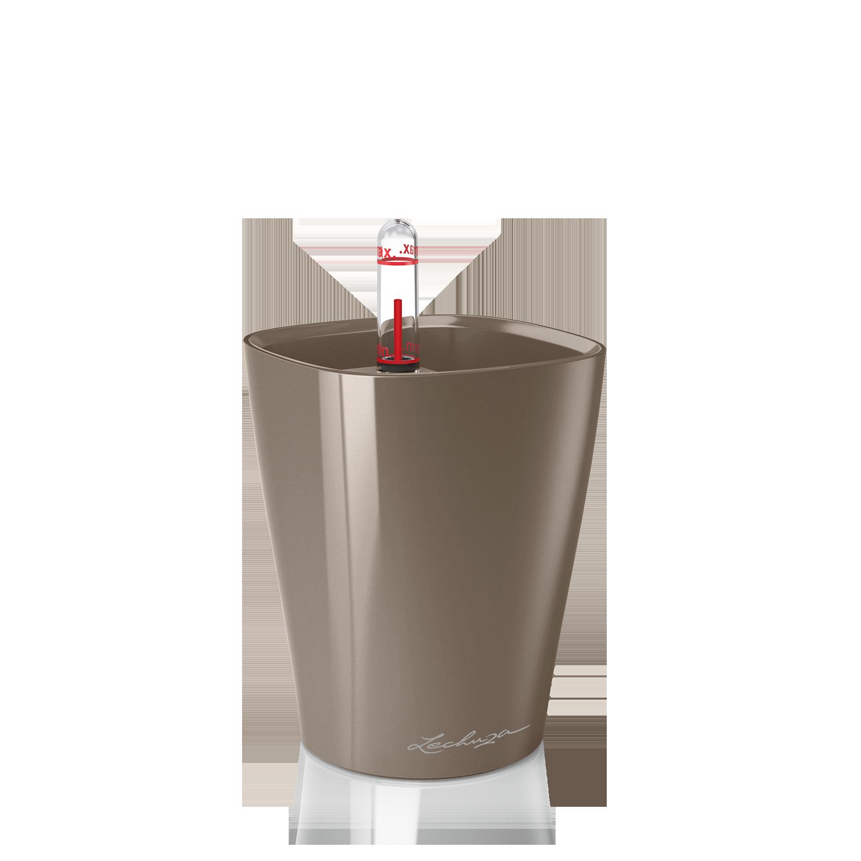 MINI-DELTINI серо-коричневый блестящий