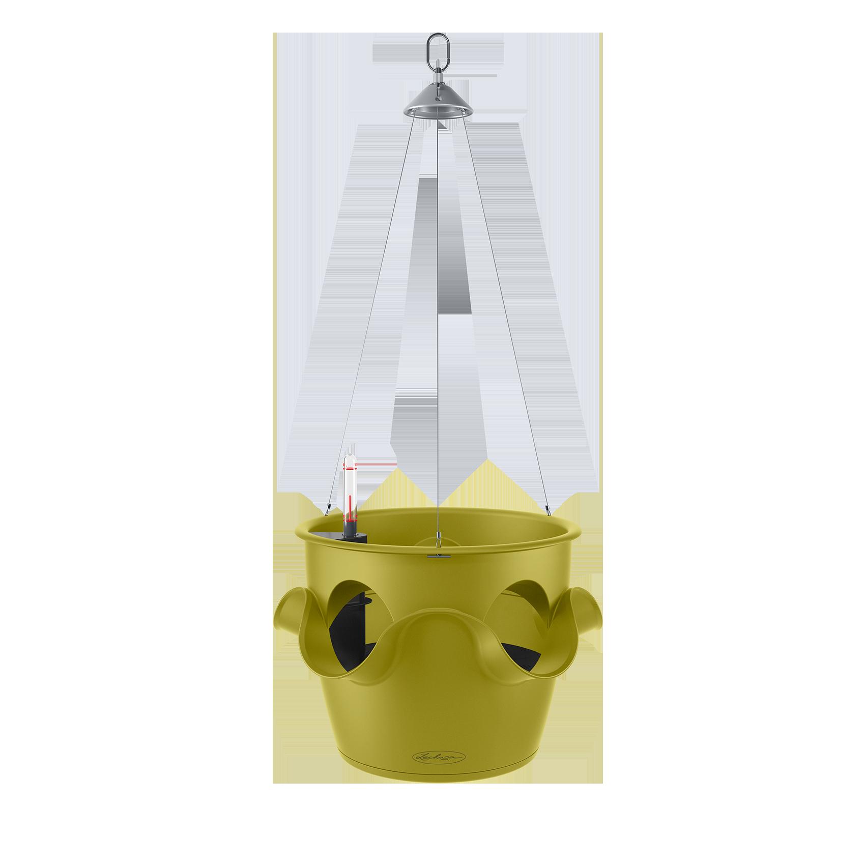 CASCADINO Color Maceta con colgante individual verde pistacho