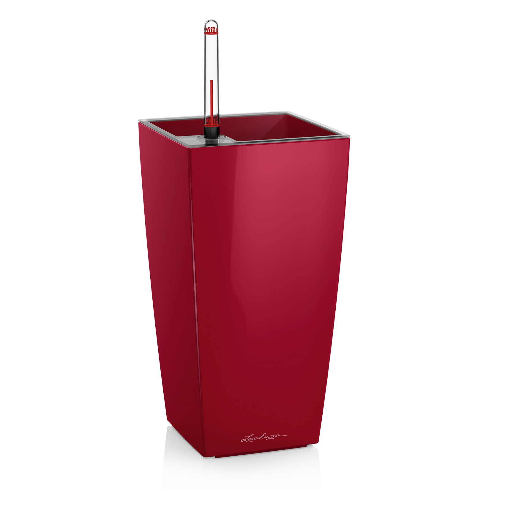 MAXI-CUBI scarlet red high-gloss
