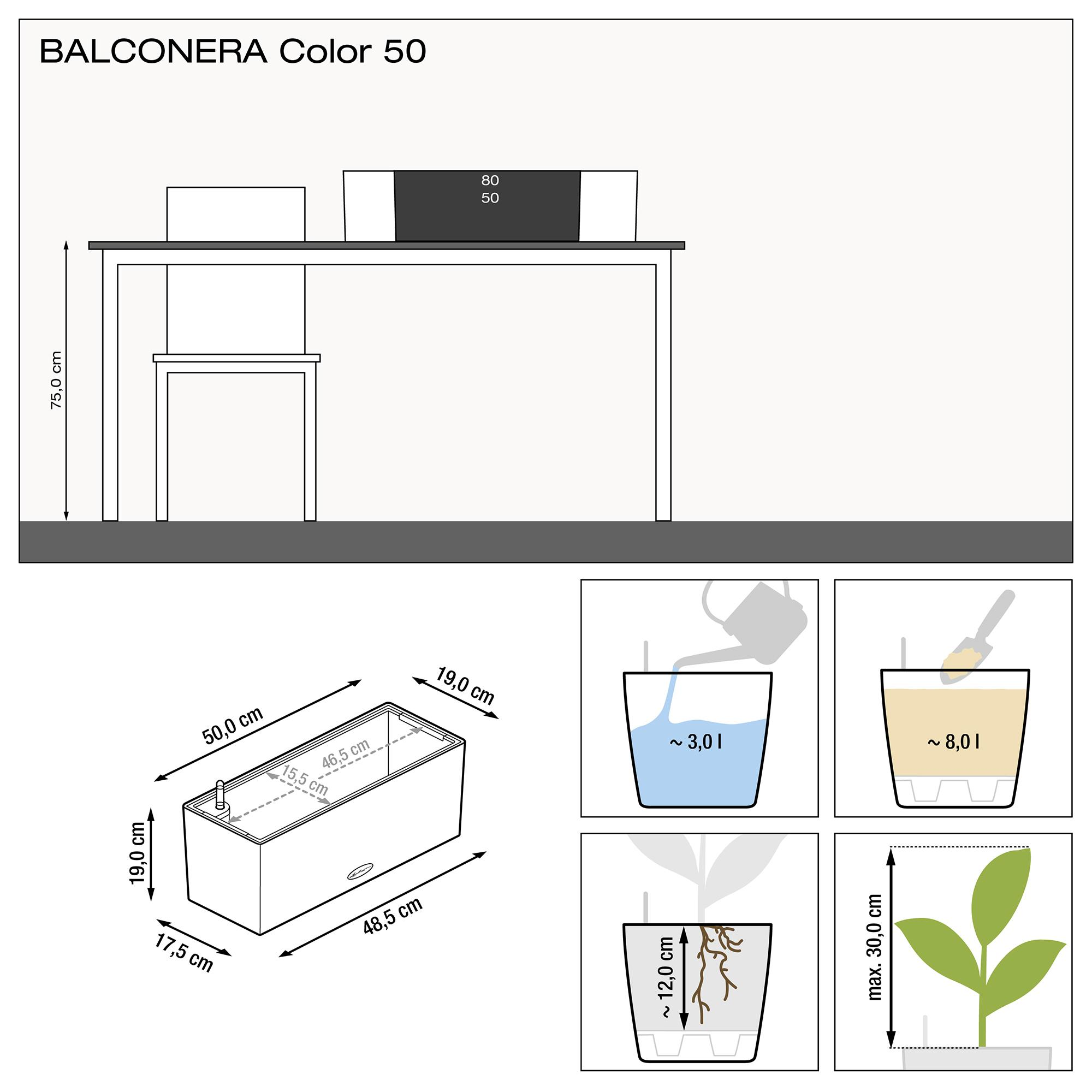 BALCONERA Color 50 gris ardoise - Image 3