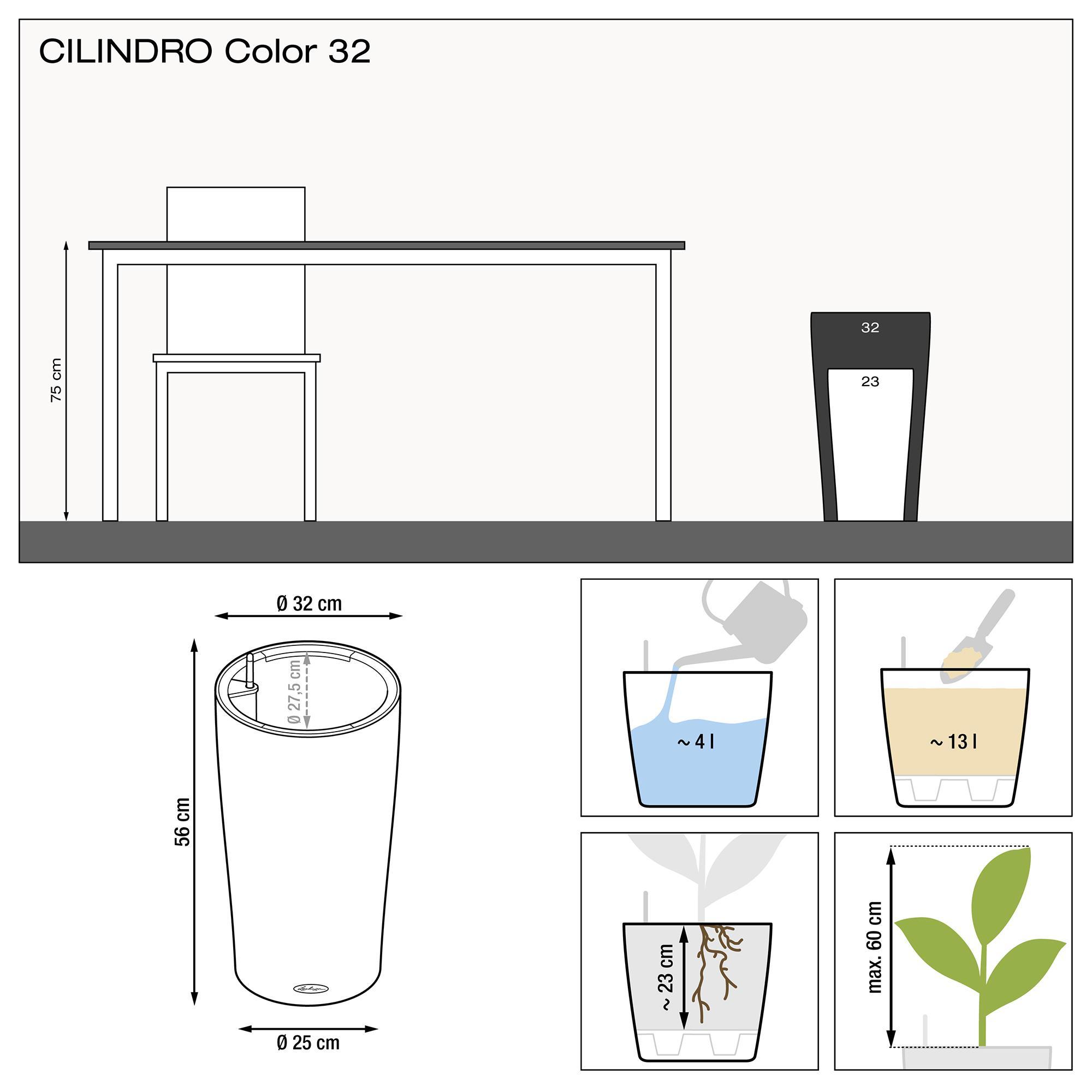 CILINDRO Color 32 серый - изображение 3