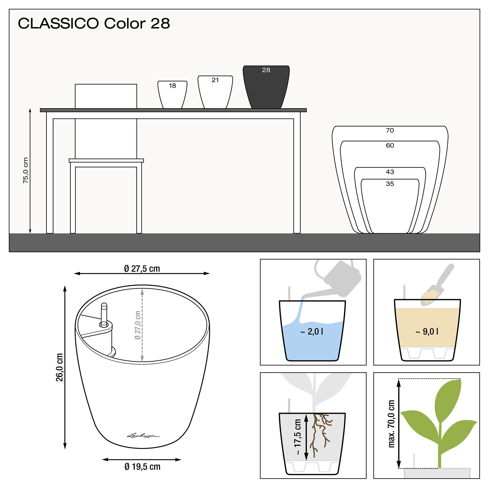 CLASSICO Color 28 weiß - Bild 2