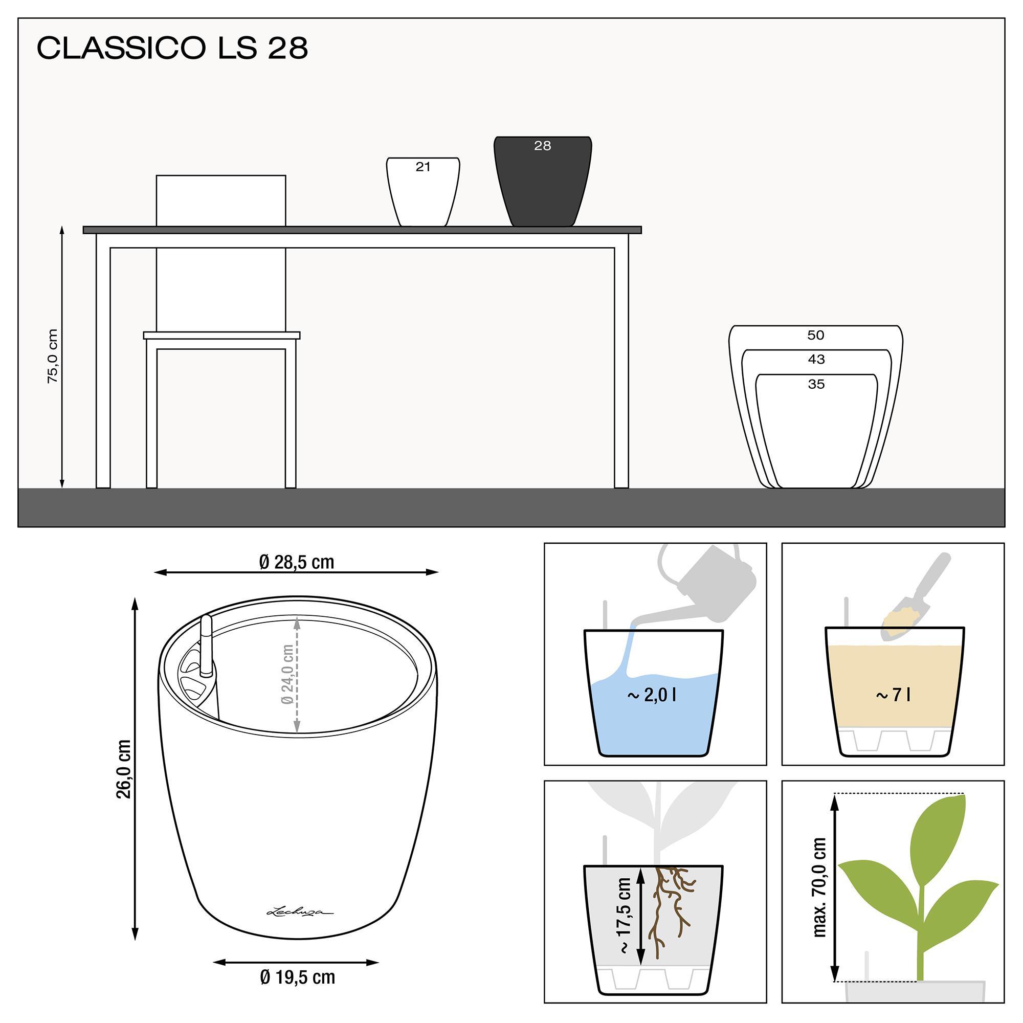 CLASSICO LS 28 Белый блестящий - изображение 3