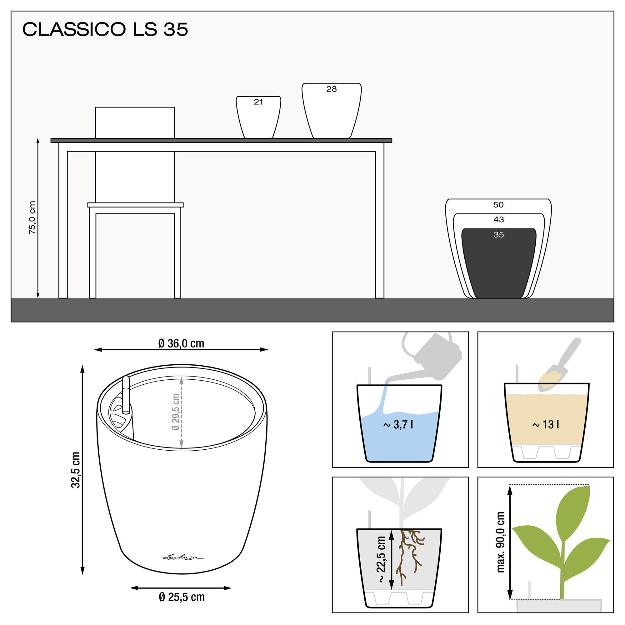 CLASSICO LS 35 espresso metallic - Image 3