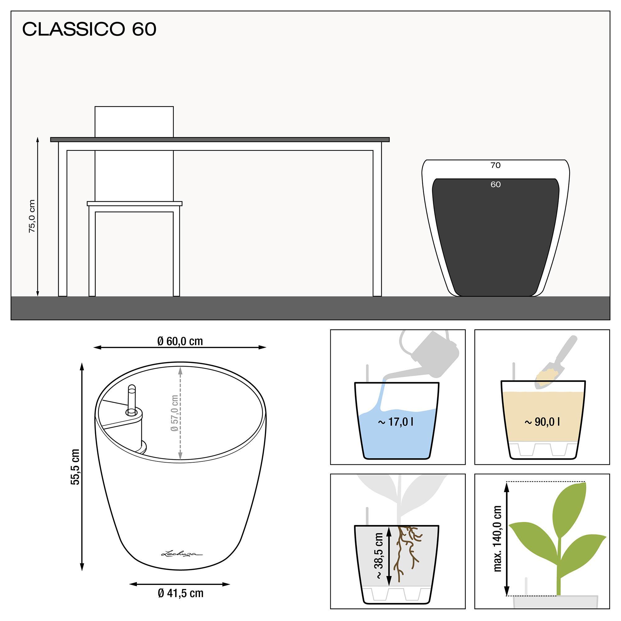 CLASSICO 60 tortora lucido - Immagine 2