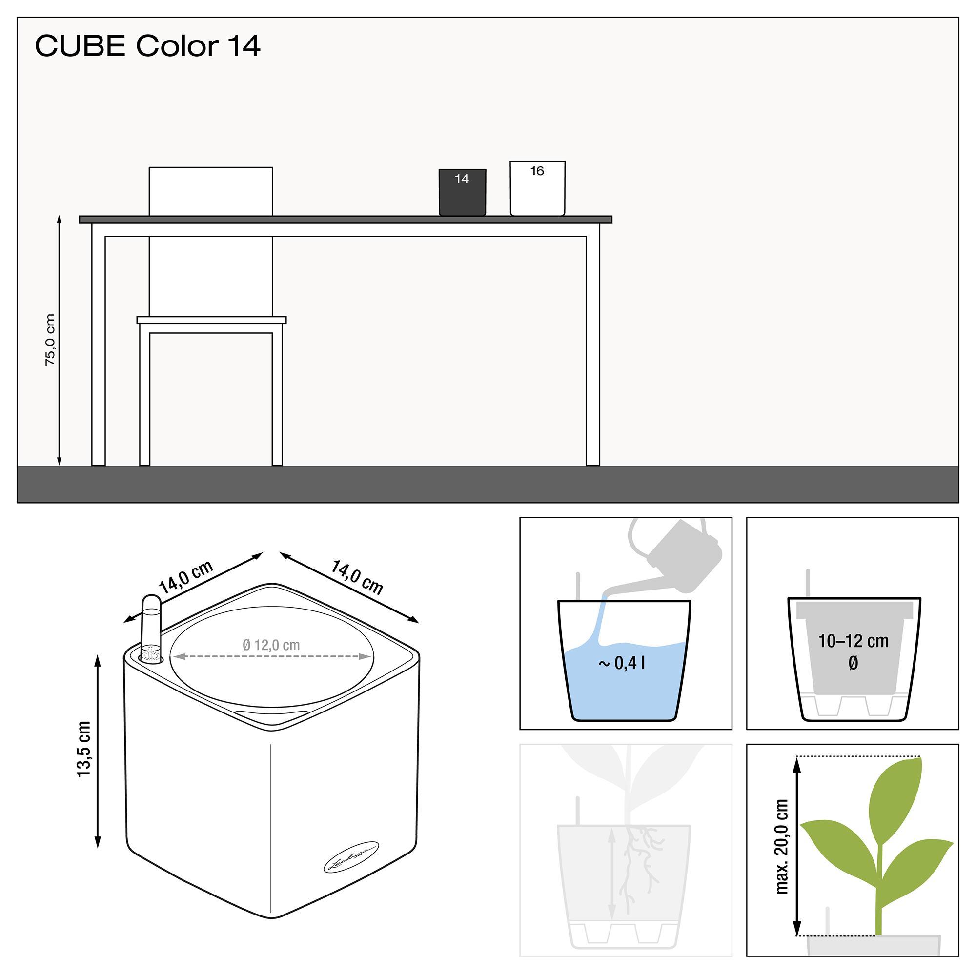 CUBE Color 14 grau - Bild 2