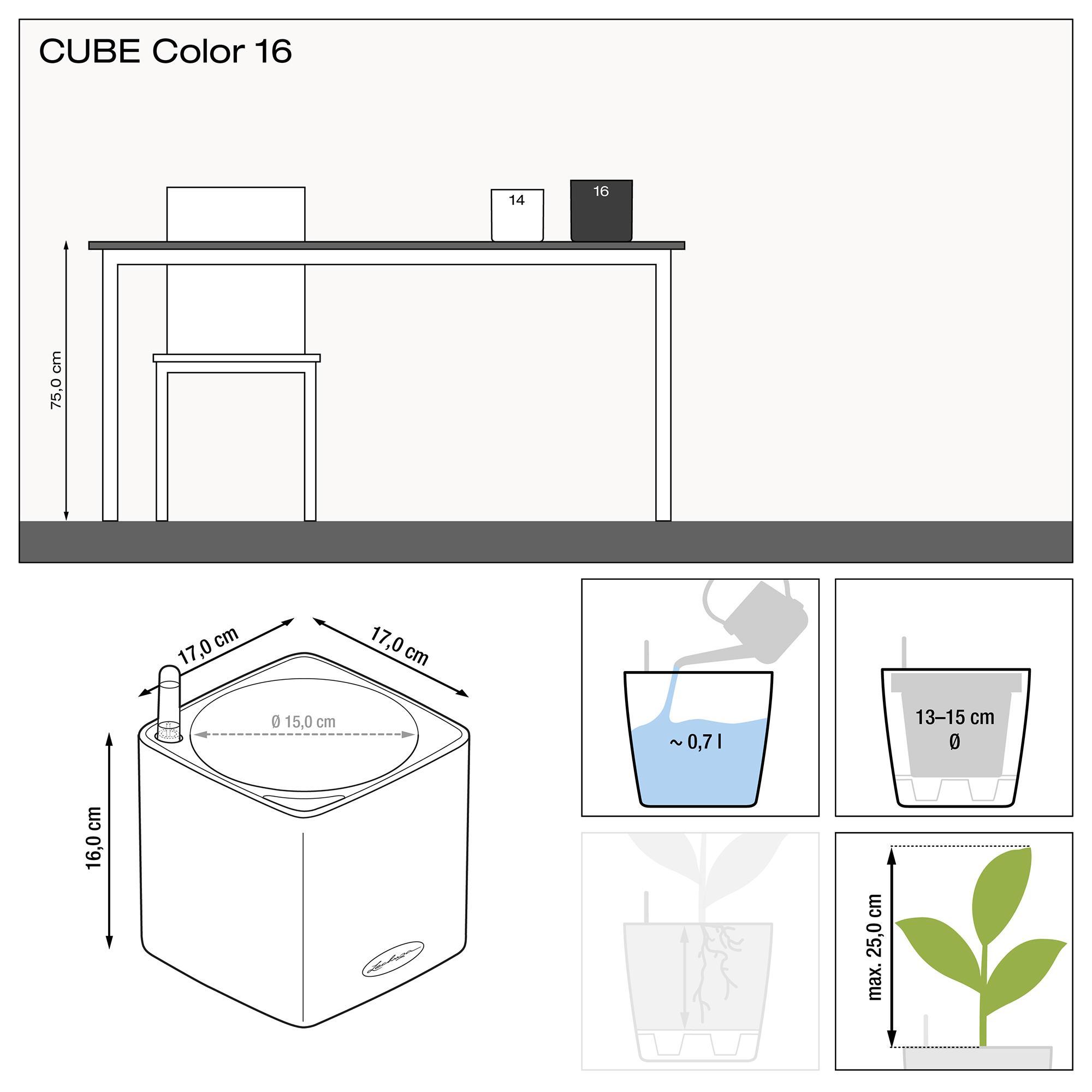 CUBE Color 16 white - Image 2