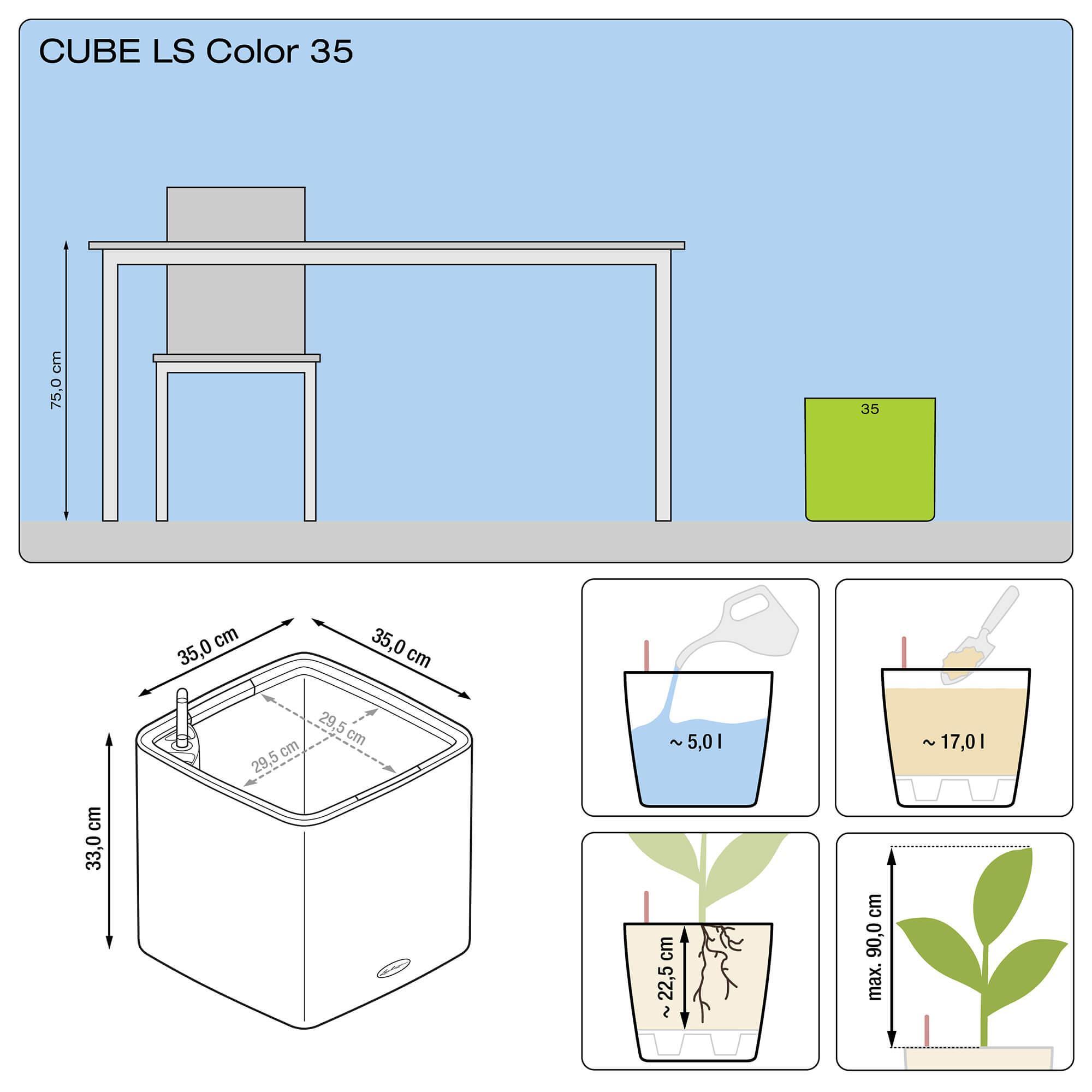 CUBE LS Color 35 gris ardoise - Image 3