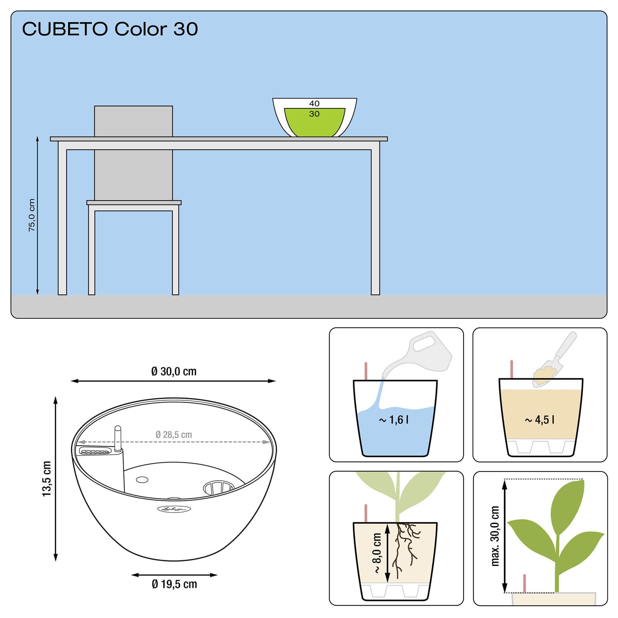 CUBETO Color 30 stone gray - Image 2
