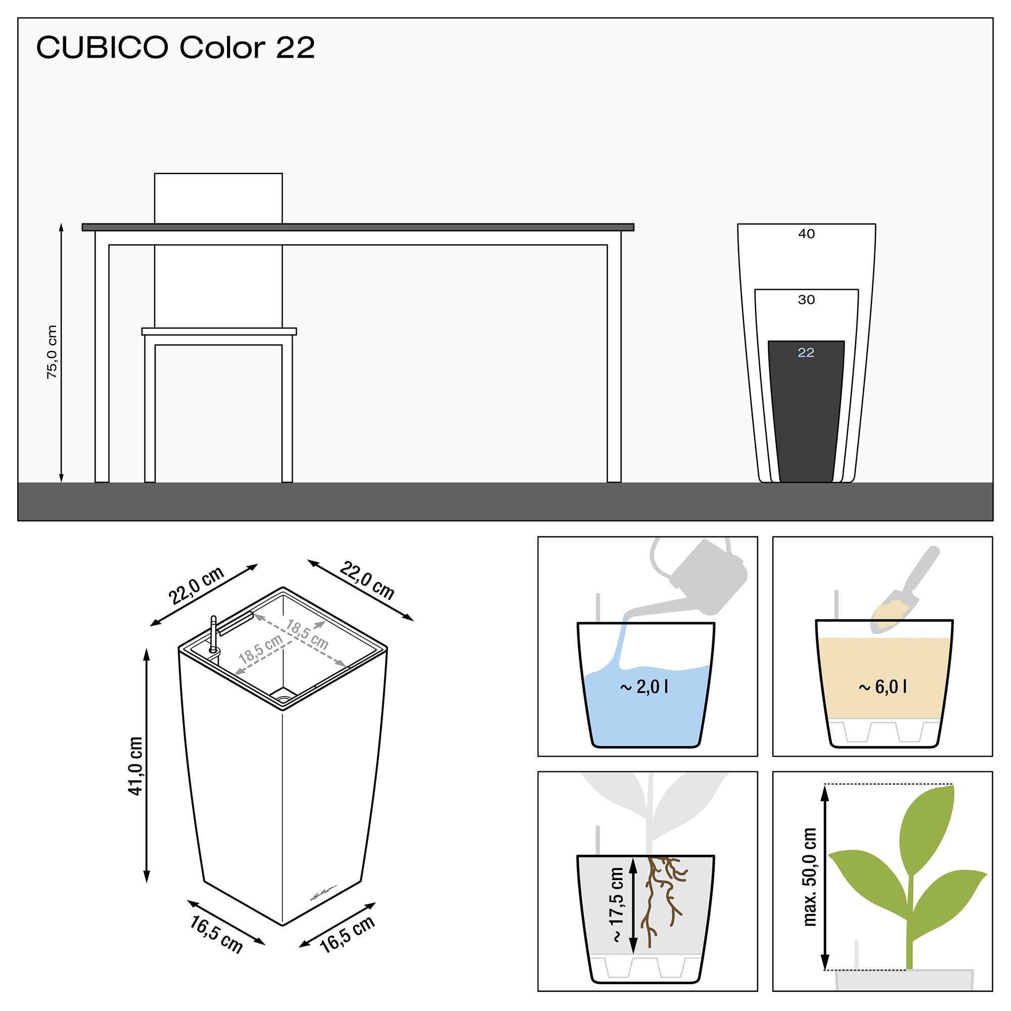 CUBICO Color 22 Белый - изображение 3