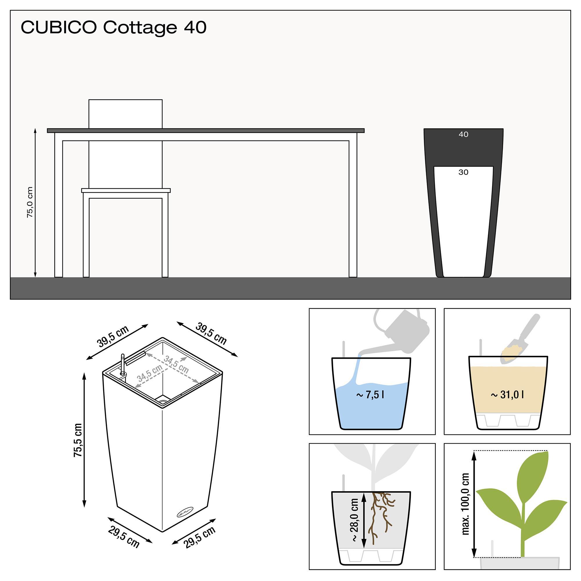 CUBICO Cottage 40 white - Image 3