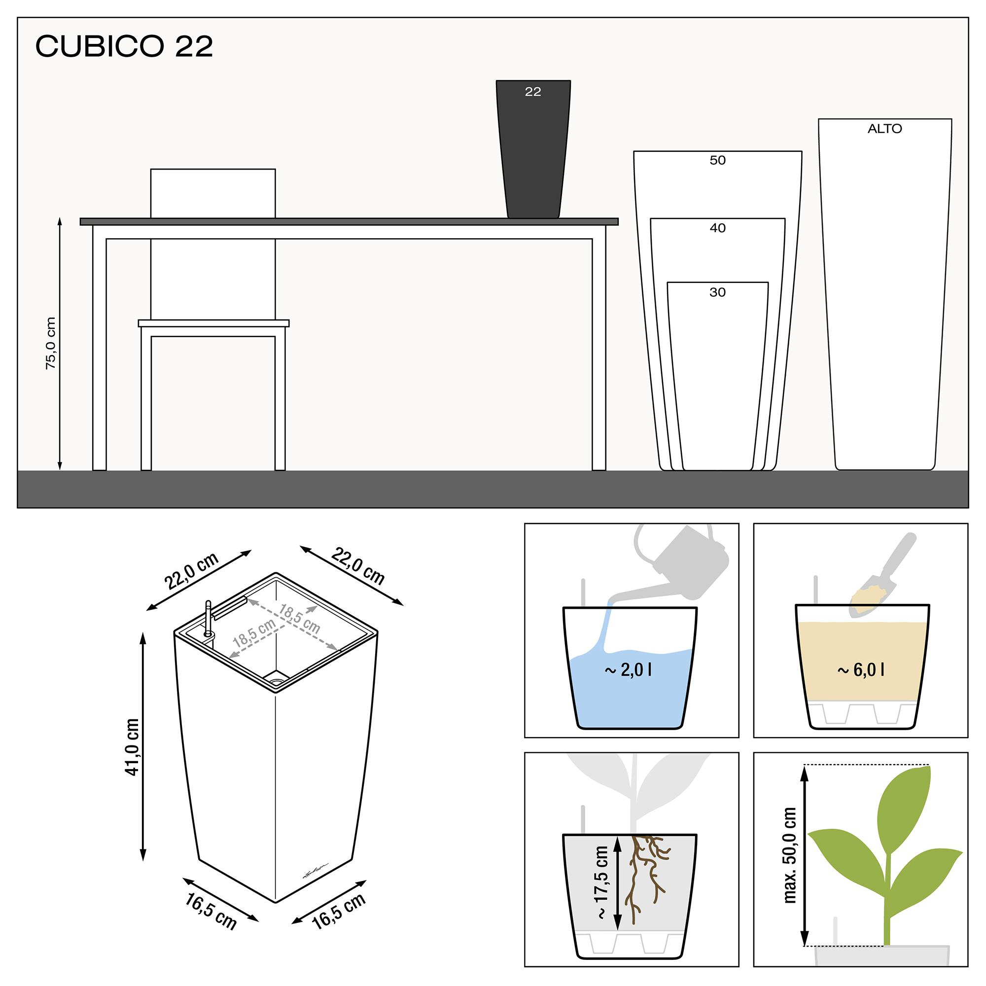 CUBICO 22 white high-gloss - Image 3